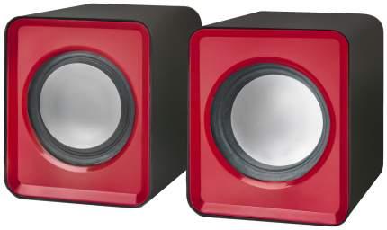 Колонки компьютерные DEFENDER SPK 22 Красный 5 Вт, питание от USB