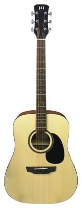 Электроакустическая гитара шестиструнная JET JDE-255 OP