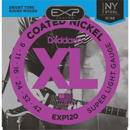 Струны для электрогитары D ADDARIO EXL120