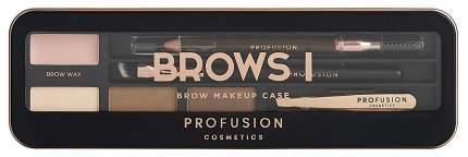 Набор для макияжа PROFUSION Brows I Pro Makeup Case