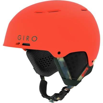 Горнолыжный шлем мужской Giro Emerge Mips 2019, красный, M