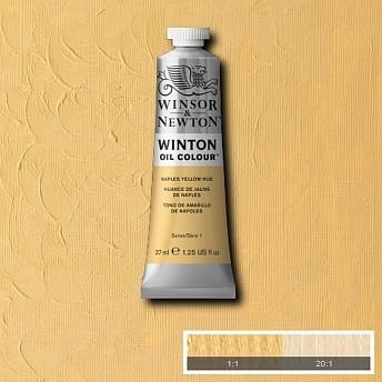 Масляная краска Winsor&Newton Winton желтый неаполь 37 мл