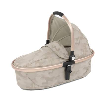 Egg люлька carrycot camo sand & gold mirror frame