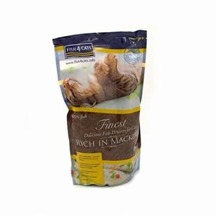 Сухой корм для кошек Fish4Cats Finest Mackerel, макрель, 1,5кг