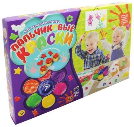 """Пальчиковые краски """"Мое первое творчество"""" Данко Тойс / Danko Toys"""