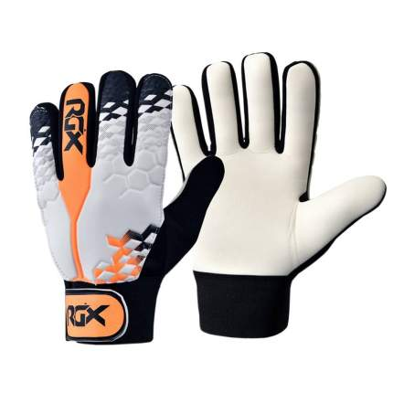 Вратарские перчатки RGX GFB03, black/orange, L