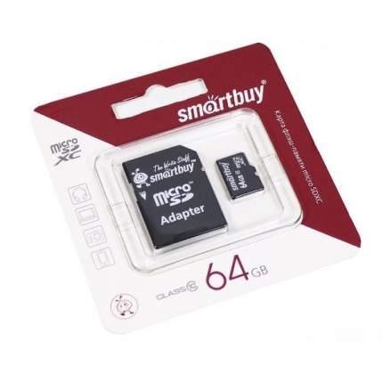 Карта памяти SmartBuy Micro SD 64GB