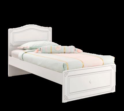 Кровать Cilek Selena 100х200 см, белый