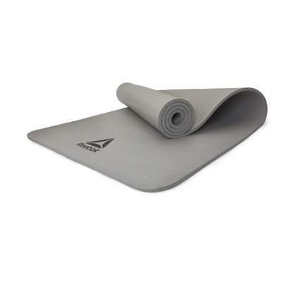 Коврик для йоги Reebok RAMT-11014GR серый 7 мм