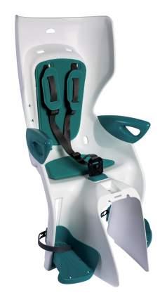 Детское велокресло заднее Bellelli Summer Standard B-fix белое/зеленое