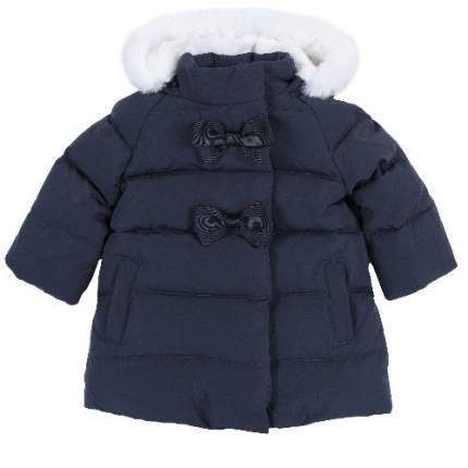 Куртка Chicco для девочек р.92 цв.темно-синий