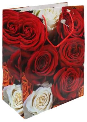 """Пакет подарочный """"Роскошные розы"""", 26x33x14 см"""