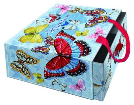 """Коробка подарочная """"Тропические бабочки"""""""