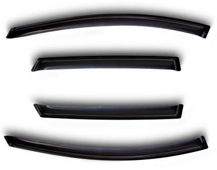 Дефлекторы окон Vinguru Ford Kuga 2012-н.в./кросс/накладные/скотч к-т 4 шт. материал акрил