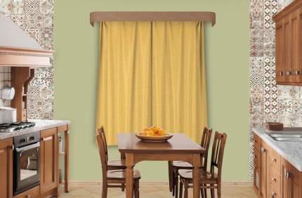 Набор штор Индивидуальный пошив Тафта Fabolous желтый