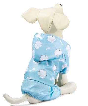 Костюм-дождевик для собак Triol Малыш, нежно-голубой, L