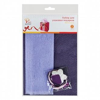 Набор для оформления подарков, фиолетовый