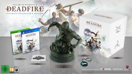 Игра Pillars of Eternity II: Deadfire Ultimate Collector's Edition для PlayStation 4
