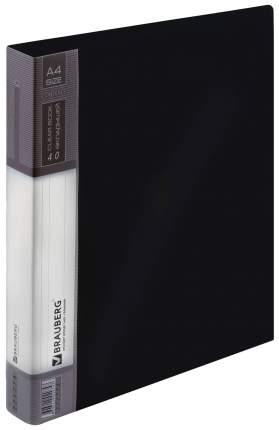 Папка BRAUBERG Contract 221776 Черный A4