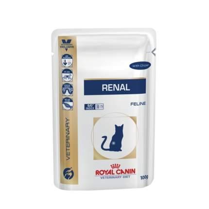 Влажный корм для кошек ROYAL CANIN Vet Diet Renal, курица, 85 г