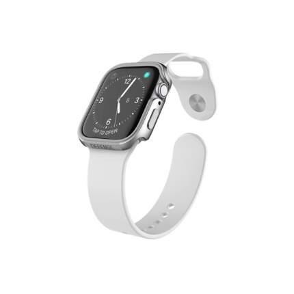 Чехол X-Doria Defense Edge Apple Watch 40mm Silver
