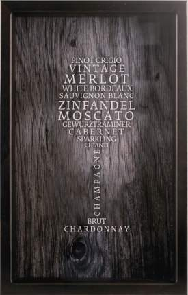 Копилка для винных пробок Сорта Вин 29x45 см. Дубравия KD-022-122