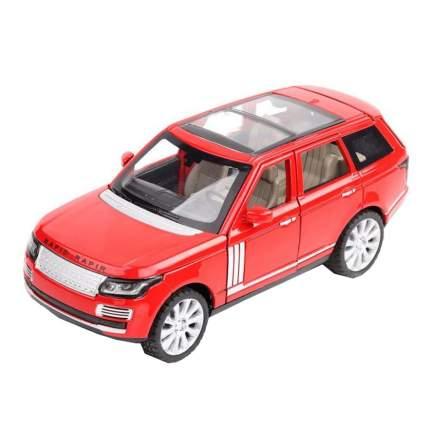 Коллекционная модель машины джип ROV инерционная 18см , цв. красная