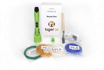 3D ручка Tiger 3d Round One, зелёная (TGRGn)