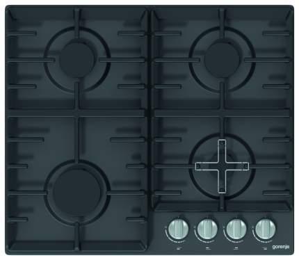 Встраиваемая варочная панель газовая Gorenje G641ZAMB Black