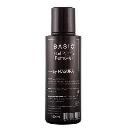 Жидкость для снятия лака Masura BASIC Nail Polish Remover 100 мл