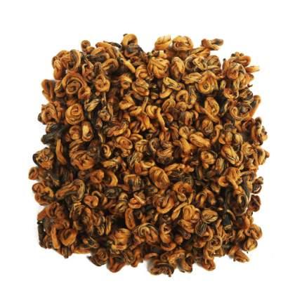 Чай Чайный лист хун цзинь ло золотая улитка премиум 50 г