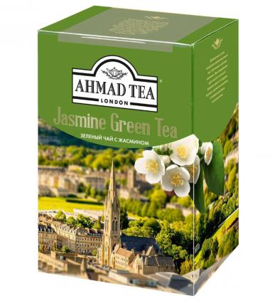 Чай Ahmad Tea зеленый байховый листовой с жасмином  200 г