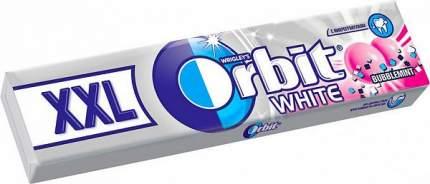 Жевательная резинка Orbit bubblemint xxl 20.4 г 20 штук