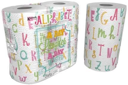 Бумажные полотенца World Cart kartika collection алфавит