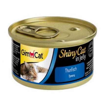 Консервы для кошек GimPet ShinyCat, тунец, 70г