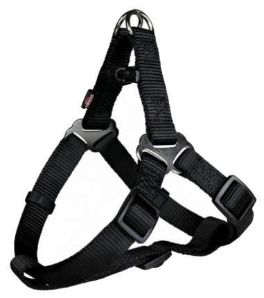Шлейка для собак TRIXIE Premium XS–S: 30–44 см 10 мм, чёрный