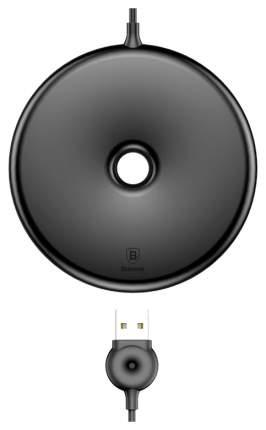 Беспроводное зарядное устройство Baseus Q Donut Wireless Charger Black