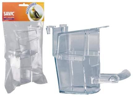 Кормушка для птиц Savic, пластик, прозрачный, 2 шт (7 х 7,5 х 6 см)
