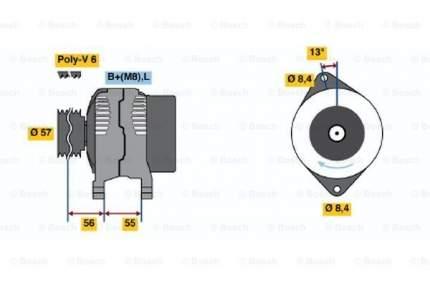 Генератор Bosch 0 123 315 016