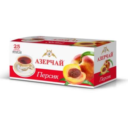 Чай черный Азерчай персик 25 пакетиков