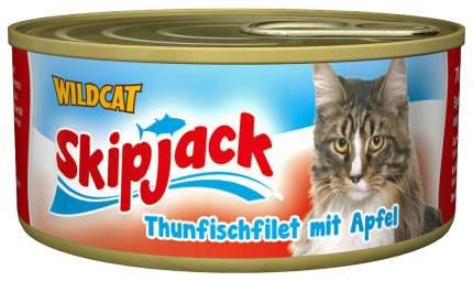 Консервы для кошек Wildcat, рыба, 70г