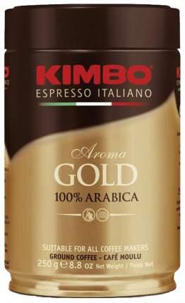 Кофе молотый Kimbo aroma gold arabica 250 г