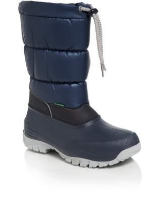 Сапоги Demar lucky синий утепленный съемный валенок шнурок р 33-34