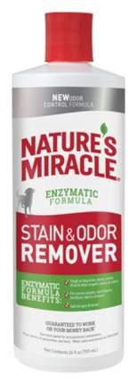 Нейтрализатор органических пятен и запаха Nature's Miracle Dog Stain&Odor Remover 709 мл