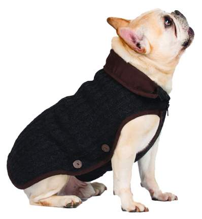 Куртка для собак Dog Gone Smart размер 3XL унисекс, серый, длина спины 55 см