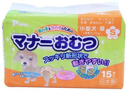 Подгузники для домашних животных Daiichi Eizai интеллектуальные30-45 см 15 шт