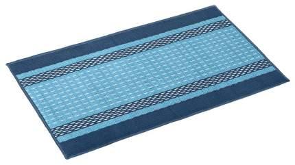 Коврик текстильный Vortex Madrid синий 40x60 см
