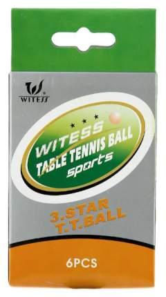 Мячи для настольного тенниса Shenzhen Toys Witess 1808 белые, 6 шт.