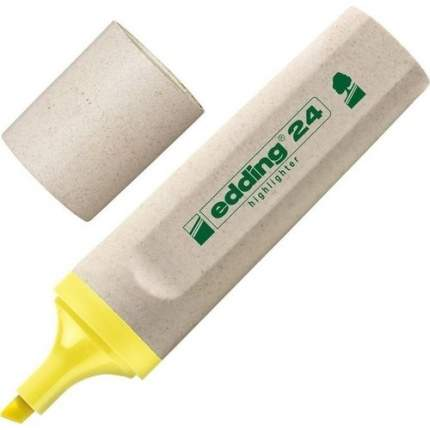 "Текстмаркер ""EcoLine"", 2-5 мм, желтый"