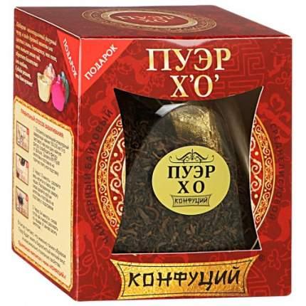 Чай черный листовой Конфуций пуэр XO банка 75 г